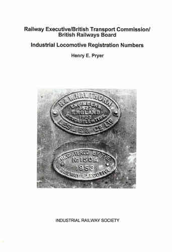 Industrial Locomotive Registration Numbers