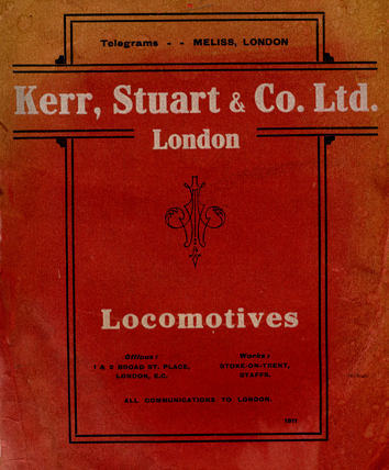 Kerr, Stuart Locomotive Catalogue