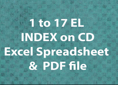 1-17 EL Index on CD