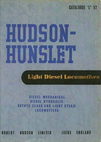 Hudson Hunslet Catalogue