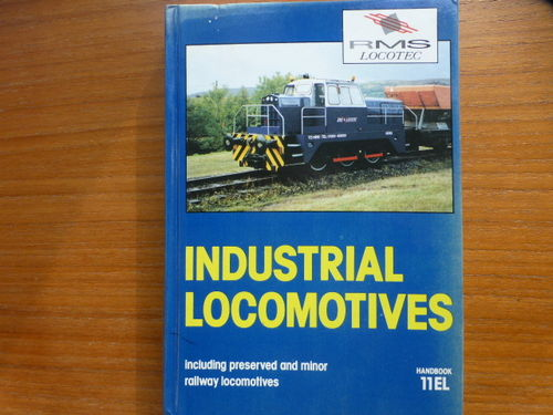Industrial Locomotives 11EL Softback - Used / Shop soiled