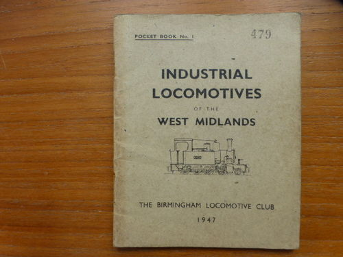 Pocketbook No.1 West Midlands (1947) - Used