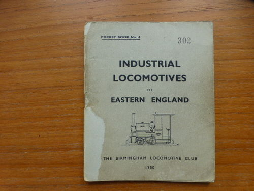 Pocketbook No.4 Eastern England (1950) - Used