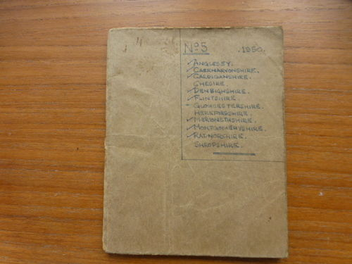 Pocketbook No.5 North Wales / English Borders (1950) - Used