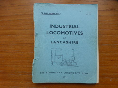 Pocketbook No.7 Lancashire (1952) - Used