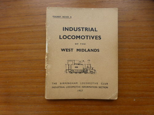 Pocketbook A West Midlands (1957) - Used