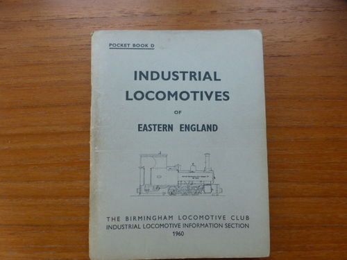 Pocketbook D Eastern England (1960) - Used