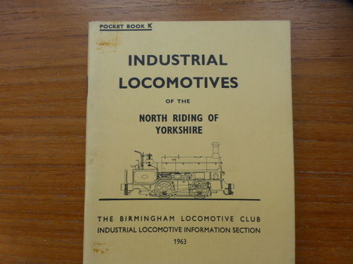 Pocketbook K North Riding of Yorkshire (1963) - Used