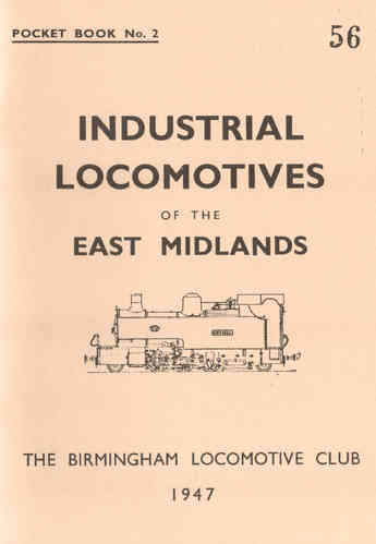 Pocketbook No.2 East Midlands (1947) - Used / Shop soiled