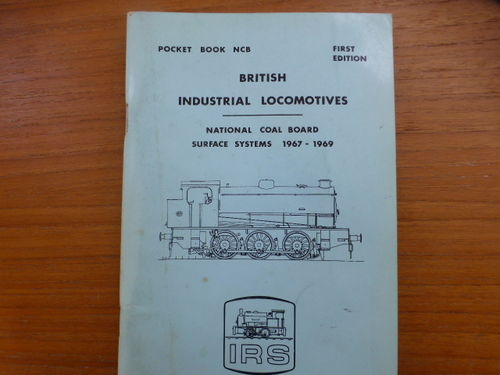 Pocketbook NCB British Industrial Locomotives NCB Surface Systems - Used
