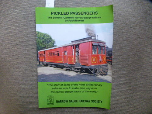 Pickled Passengers - Sentinel Cammell narrow gauge Railcars